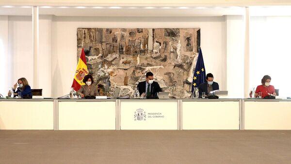 Reunión del Consejo de Ministros España - Sputnik Mundo