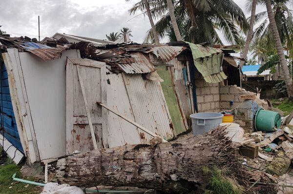 Huracán Iota en Colombia  - Sputnik Mundo