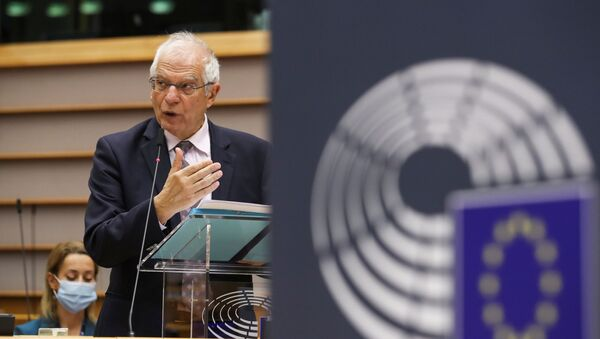 Josep Borrell, el Alto Representante para la Política Exterior de la UE - Sputnik Mundo