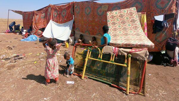 Refugiados de Tigray - Sputnik Mundo