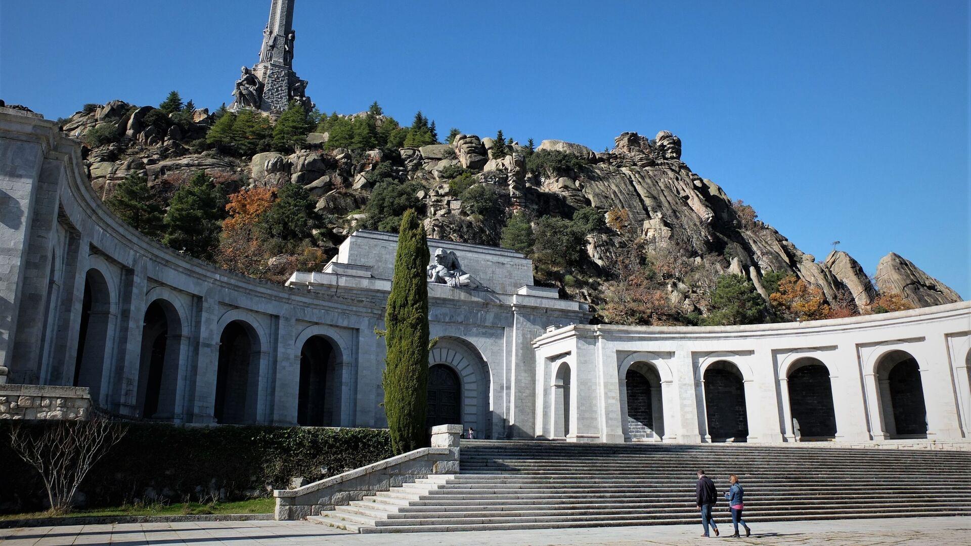Patio del Valle de los Caídos, en Madrid - Sputnik Mundo, 1920, 20.09.2021