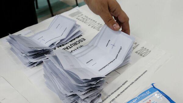 Plebiscito constitucional en Chile - Sputnik Mundo