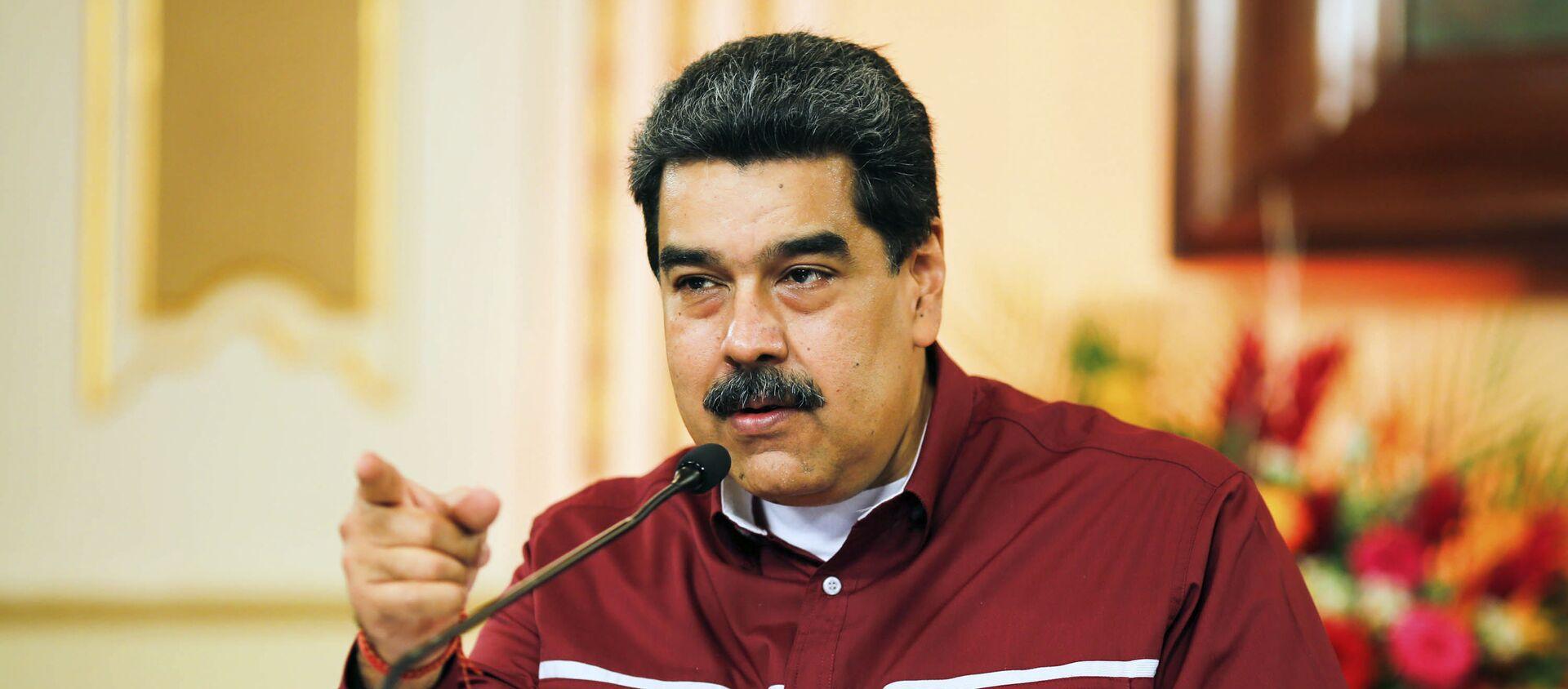 Nicolás Maduro, presidente de Venezuela - Sputnik Mundo, 1920, 18.12.2020