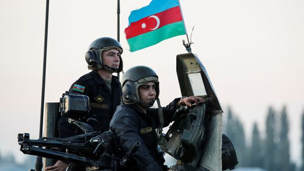 Tropas azeríes - Sputnik Mundo