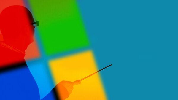 Logo Windows  - Sputnik Mundo