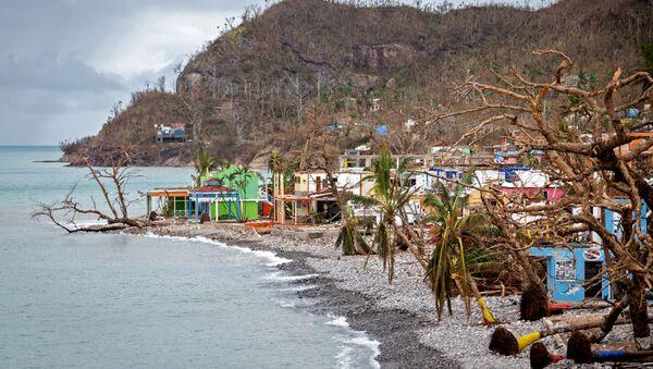 Consecuencias del huracán Iota en Providencia - Sputnik Mundo