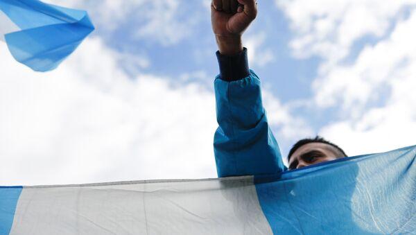 Protestas en Guatemala - Sputnik Mundo