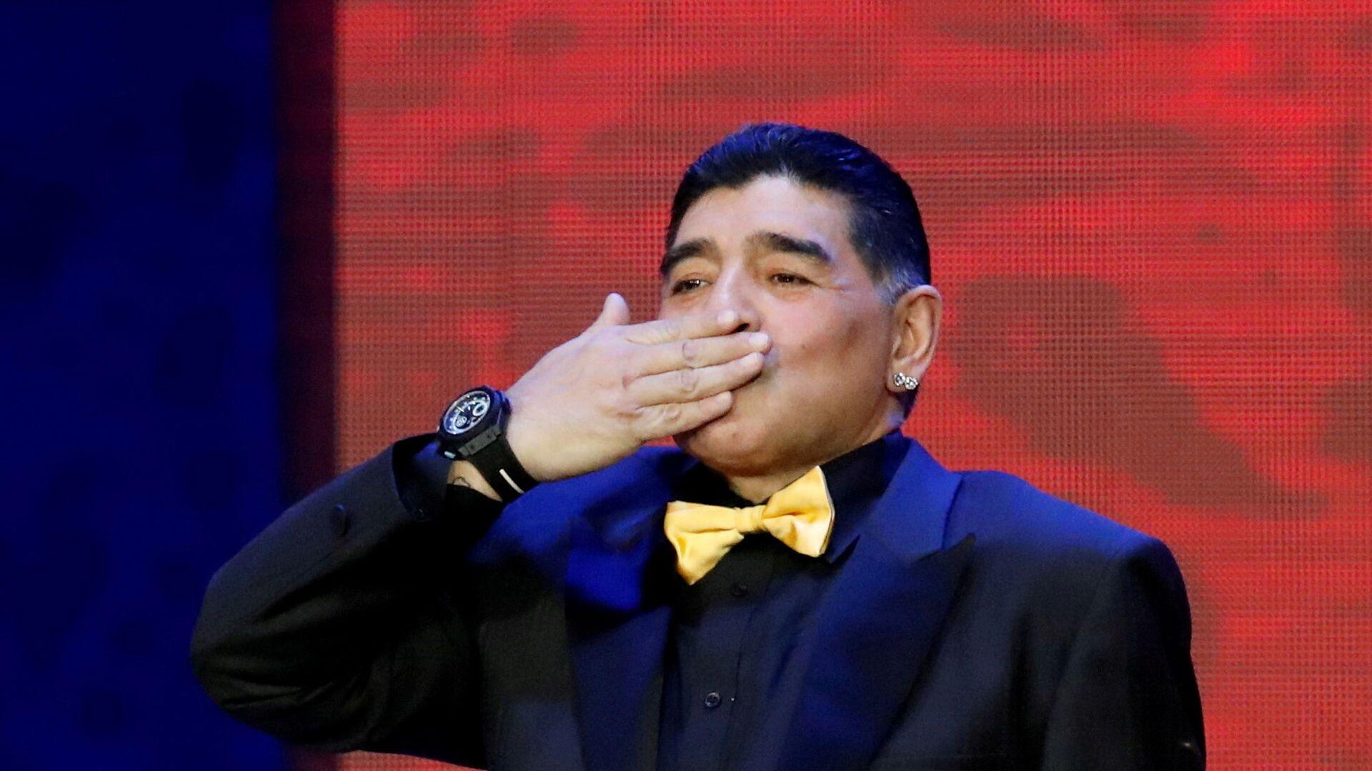Diego Armando Maradona, exfutbolista argentino - Sputnik Mundo, 1920, 14.10.2021