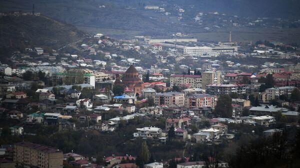 Stepanakert, capital de la autoproclamada república de Nagorno Karabaj - Sputnik Mundo