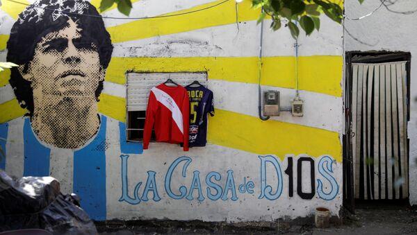 La casa de Maradona en Villa Fiorito, Buenos Aires - Sputnik Mundo