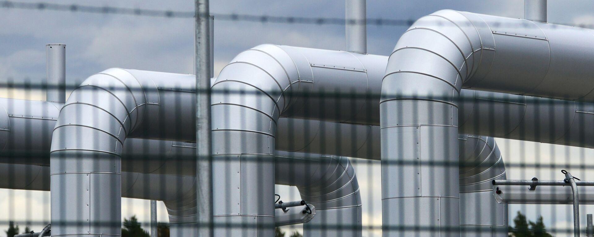 La construcción del gasoducto Nord Stream 2 - Sputnik Mundo, 1920, 02.02.2021
