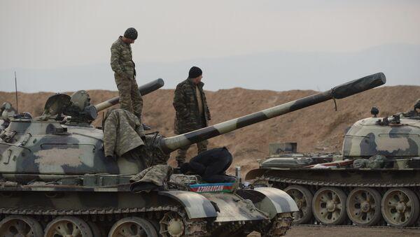 Tropas de Azerbaiyán - Sputnik Mundo
