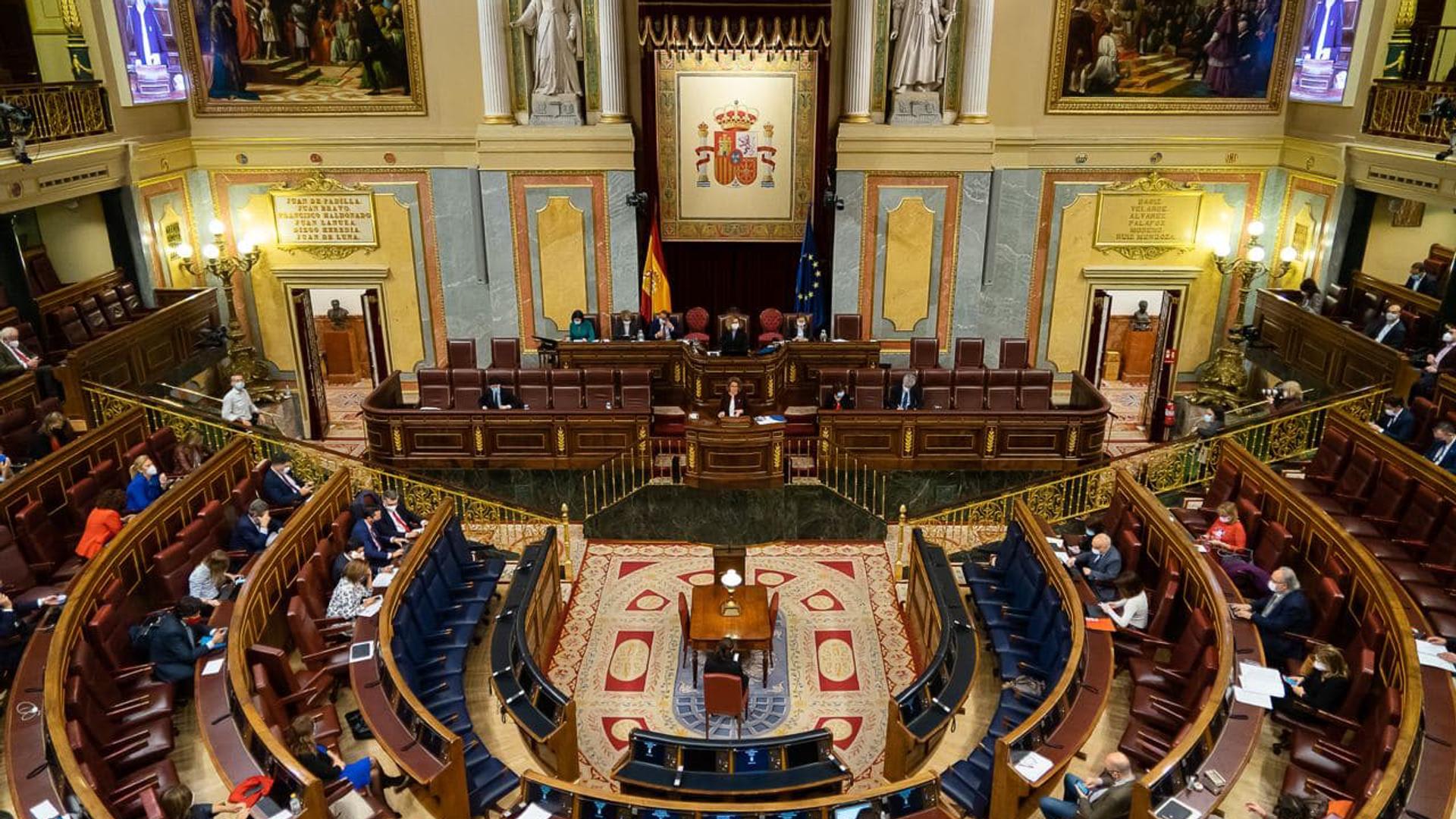Vista general sobre el Congreso de los Diputados - Sputnik Mundo, 1920, 05.10.2021