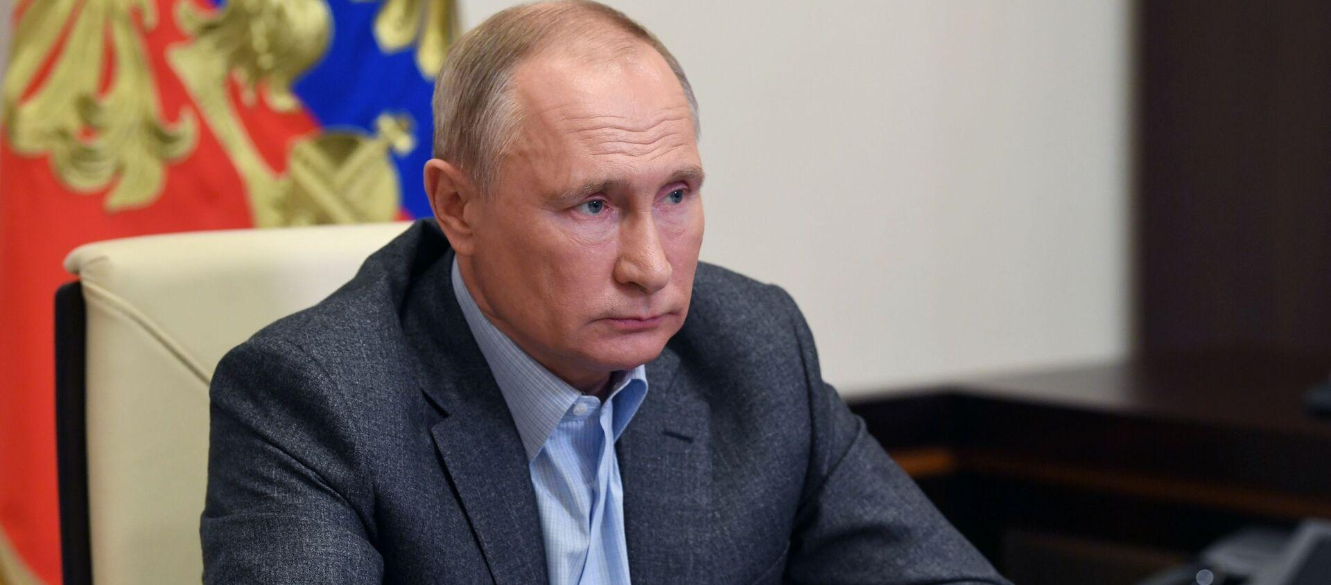 Vladímir Putin, presidente de Rusia - Sputnik Mundo, 1920, 08.12.2020