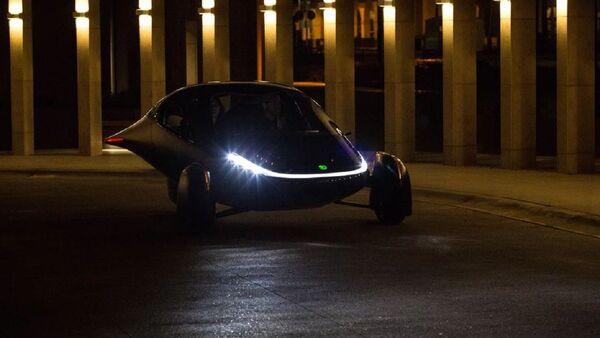 El coche eléctrico solar de Aptera - Sputnik Mundo
