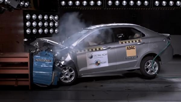 Prueba de choque para Ford Ka - Sputnik Mundo