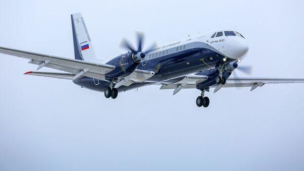 El primer vuelo del avión de pasajeros ruso Il-114-300 - Sputnik Mundo
