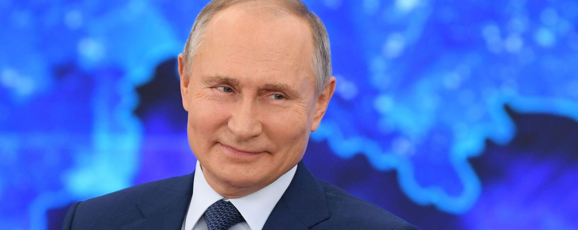 La gran rueda de prensa anual del presidente ruso, Vladímir Putin - Sputnik Mundo, 1920, 04.03.2021