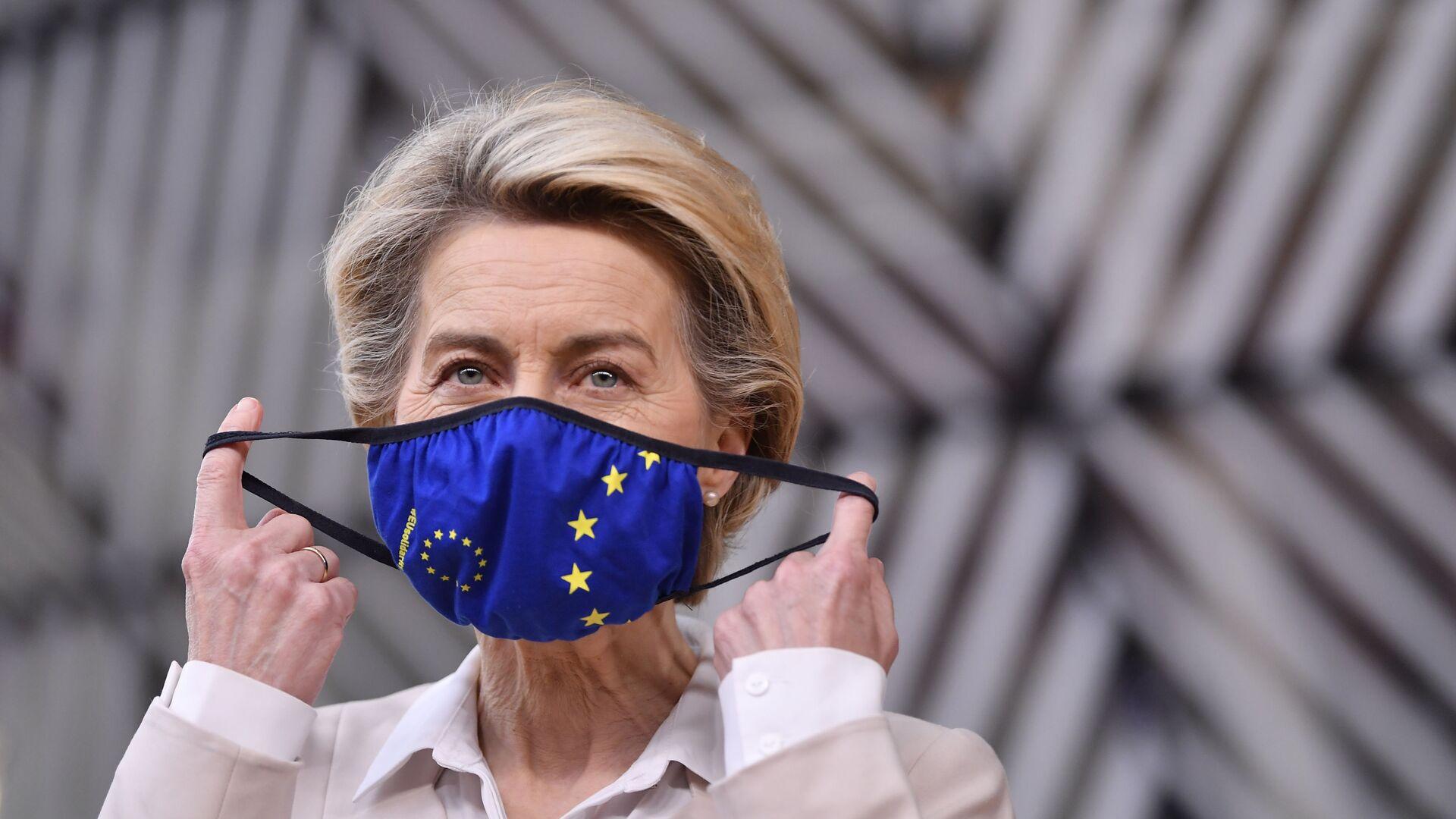 La presidenta de la Comisión Europea, Ursula von der Leyen - Sputnik Mundo, 1920, 20.09.2021