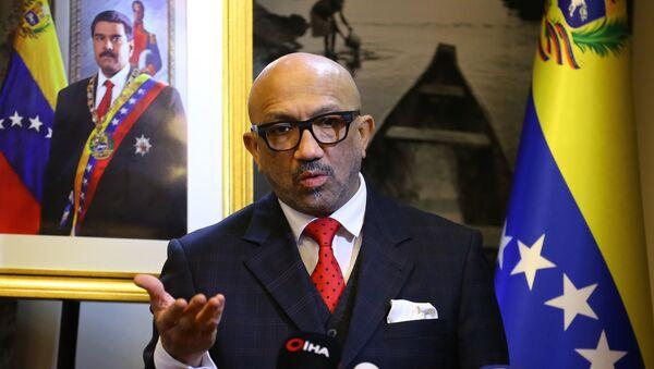 José Brachoel, el embajador venezolano en Turquía - Sputnik Mundo