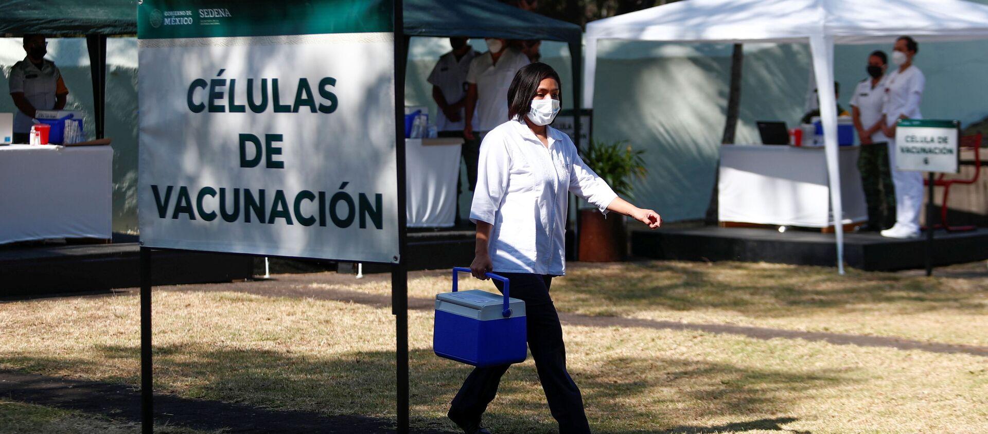 Preparación para la vacunación en México - Sputnik Mundo, 1920, 14.01.2021