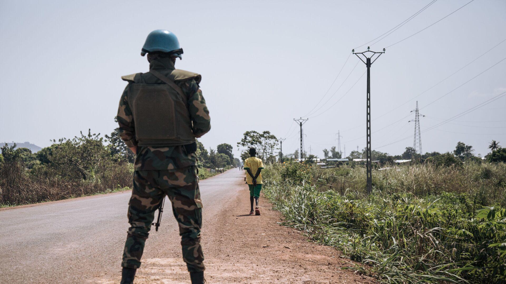 Fuerzas de paz de la ONU en República Centroafricana - Sputnik Mundo, 1920, 17.02.2021