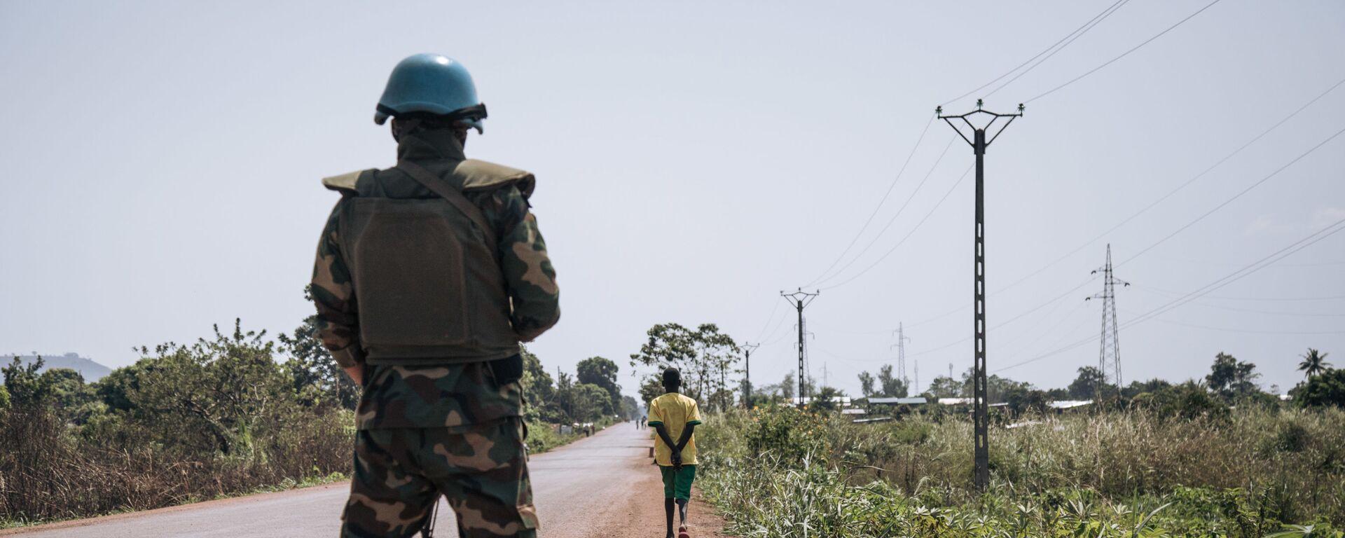 Fuerzas de paz de la ONU en República Centroafricana - Sputnik Mundo, 1920, 21.01.2021