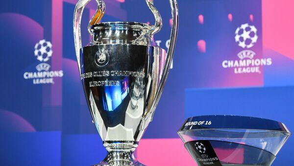 El trofeo del ganador de la Champions League - Sputnik Mundo
