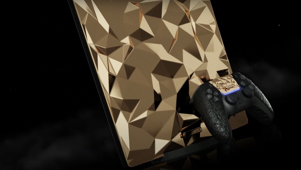 PlayStation 5 Golden Rock de la marca rusa Caviar - Sputnik Mundo