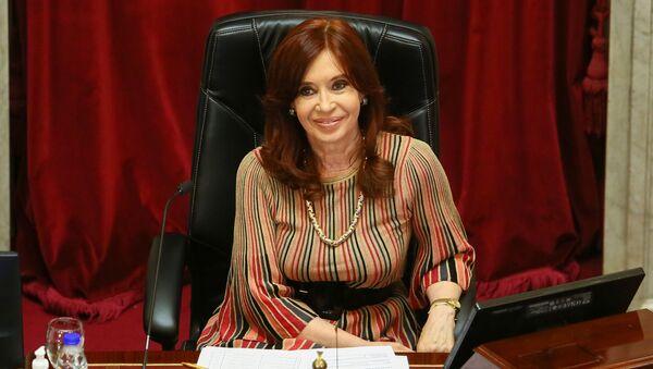 Cristina Fernández de Kirchner, vicepresidenta de Argentina - Sputnik Mundo