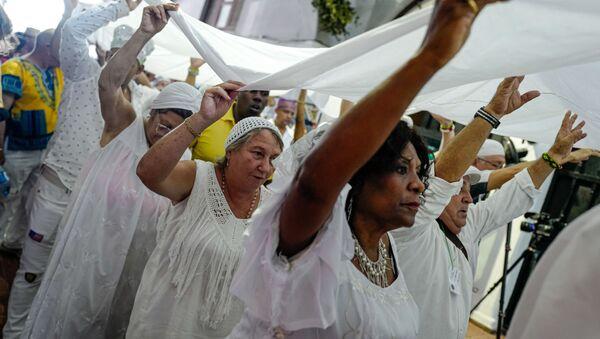 Seguidores de la religión yoruba en Cuba - Sputnik Mundo