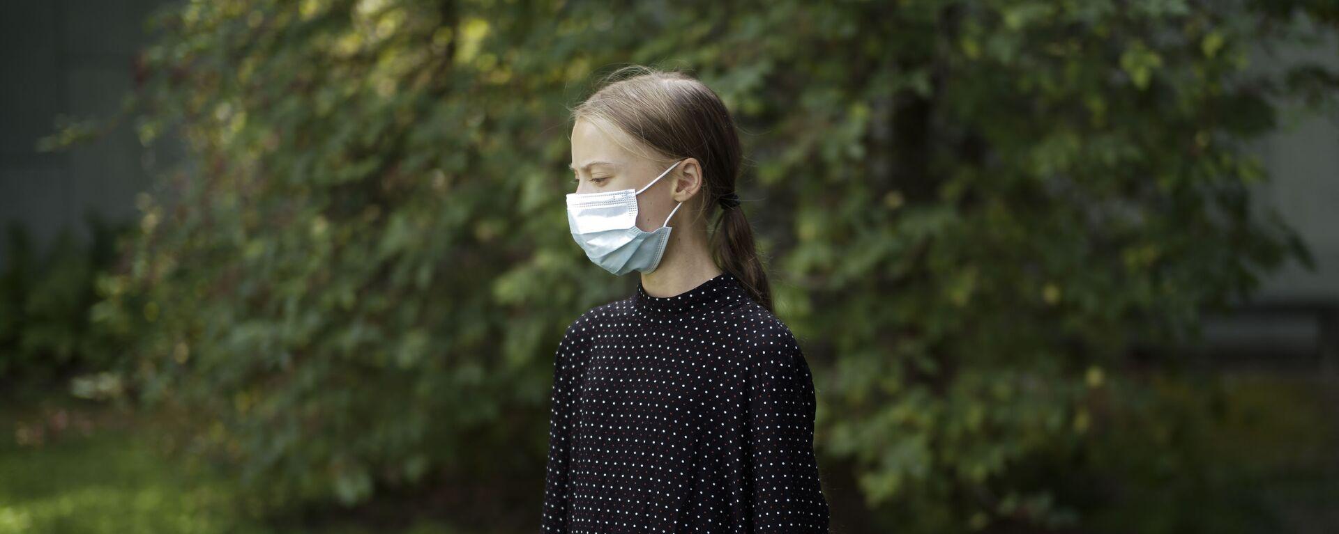 Greta Thunberg, activista ecológica  - Sputnik Mundo, 1920, 09.03.2021