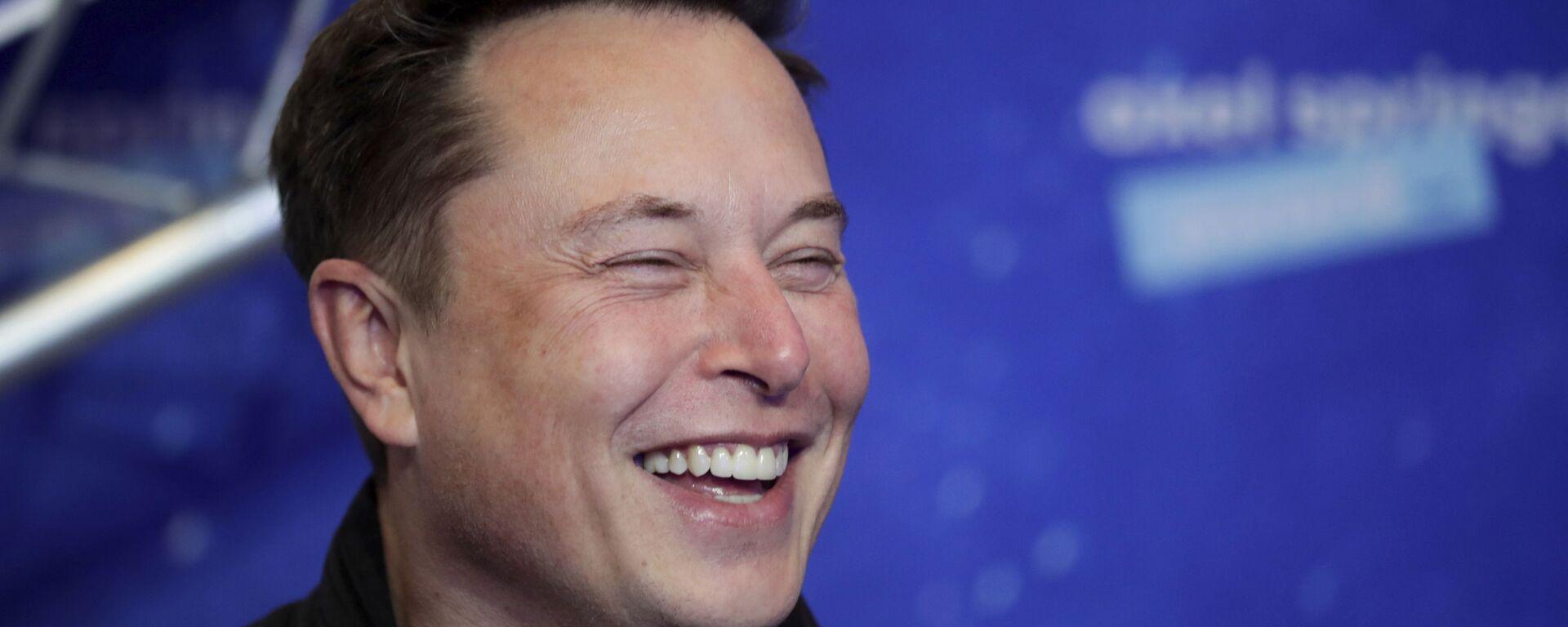 Elon Musk, fundador de Tesla y SpaceX - Sputnik Mundo, 1920, 20.09.2021