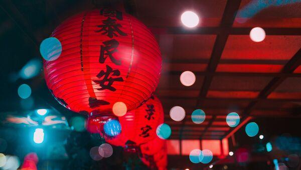 Linternas chinas (imagen referencial) - Sputnik Mundo