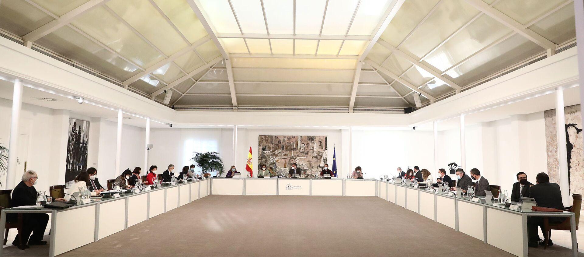 Reunión del Consejo de Ministros de España - Sputnik Mundo, 1920, 26.01.2021