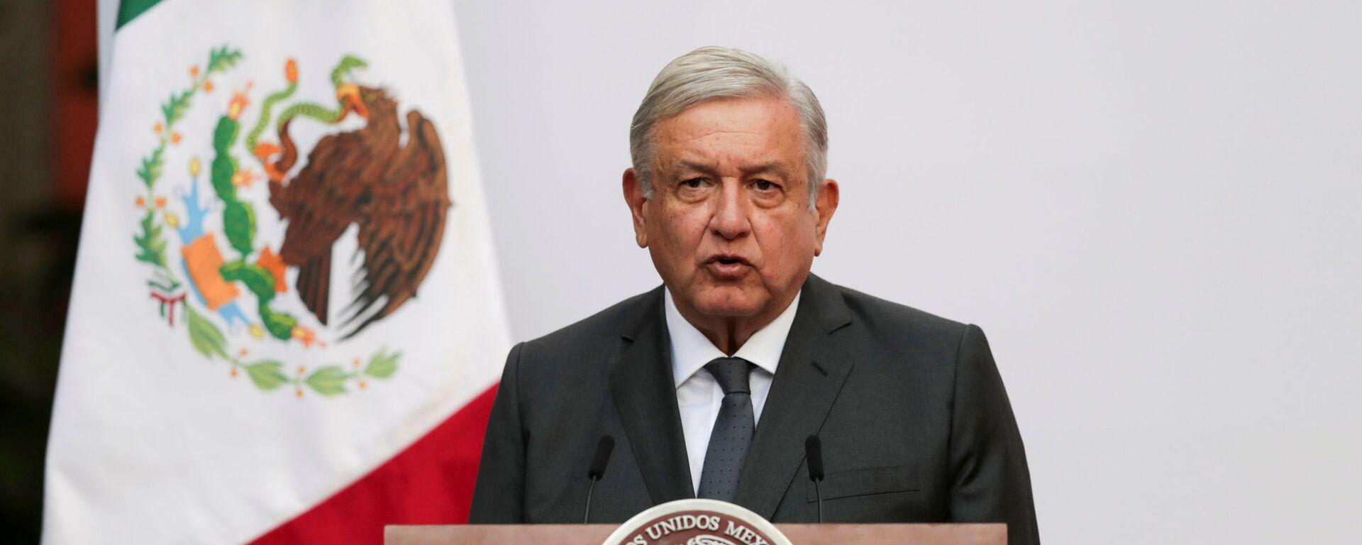 Andrés Manuel López Obrador, presidente mexicano - Sputnik Mundo, 1920, 10.02.2021