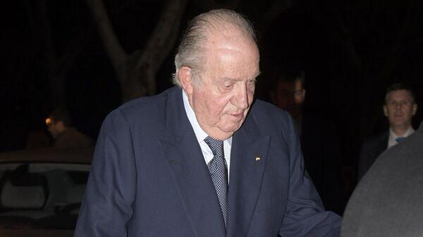 El rey emérito de España Juan Carlos I - Sputnik Mundo