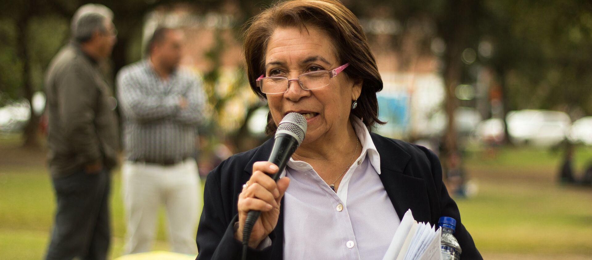 Aída Avella, senadora de la Colombia y presidenta de la Unión Patriótica - Sputnik Mundo, 1920, 15.01.2021