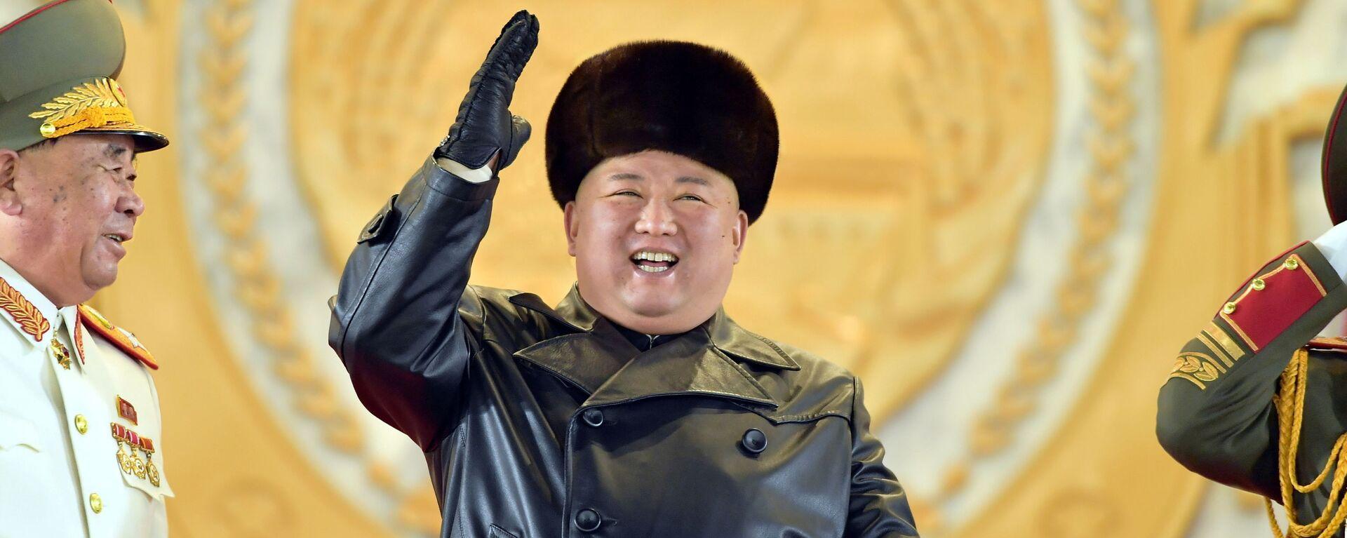 Kim Jong-un, líder de Corea del Norte - Sputnik Mundo, 1920, 20.01.2021