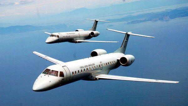 Dos aviones de Fuerza Aérea de Brasil - Sputnik Mundo