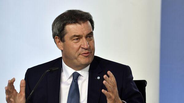 Markus Söder, ministro presidente del estado federado de Baviera - Sputnik Mundo