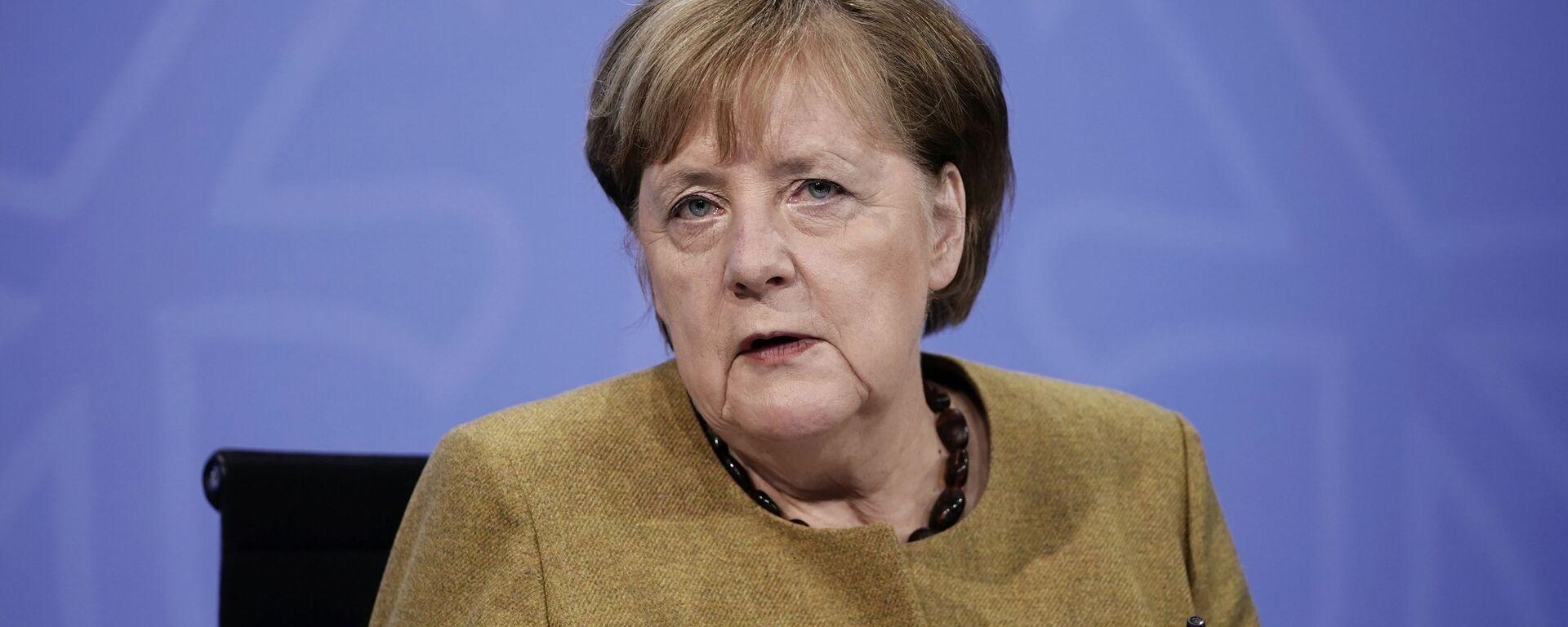Angela Merkel, canciller alemana - Sputnik Mundo, 1920, 17.01.2021