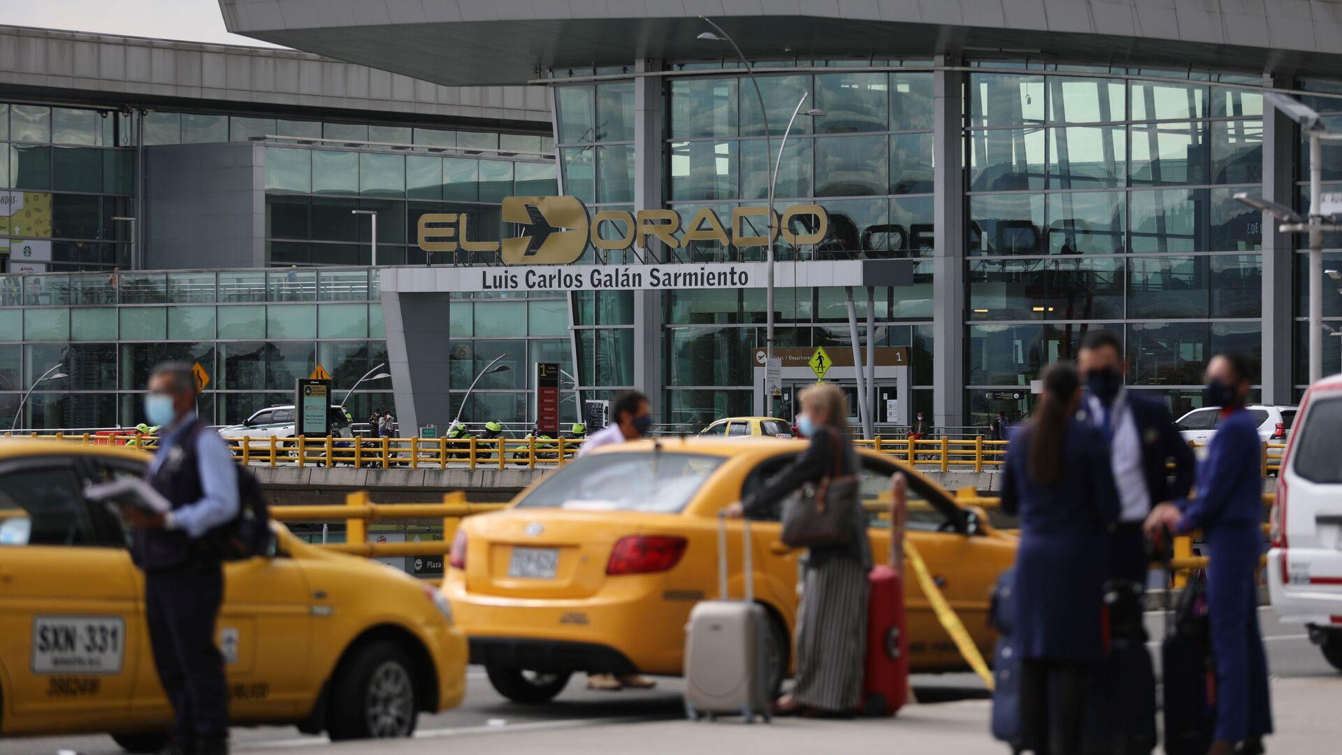 El aeropuerto El Dorado de Bogotá - Sputnik Mundo, 1920, 08.10.2021