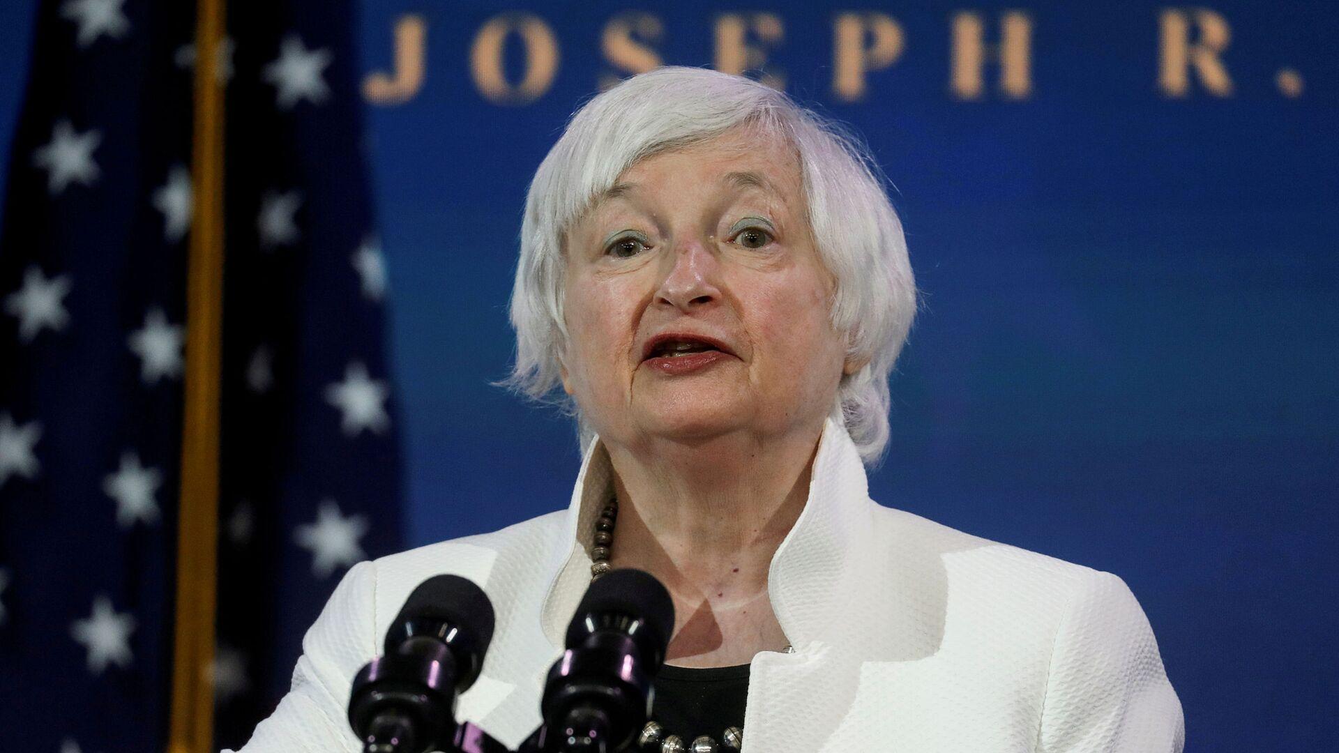 Janet Yellen, candidata a secretaria del Tesoro de Estados Unidos - Sputnik Mundo, 1920, 24.07.2021