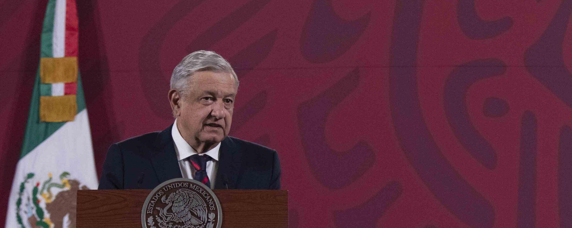 El presidente de México, Andrés Manuel López Obrador - Sputnik Mundo, 1920, 22.01.2021
