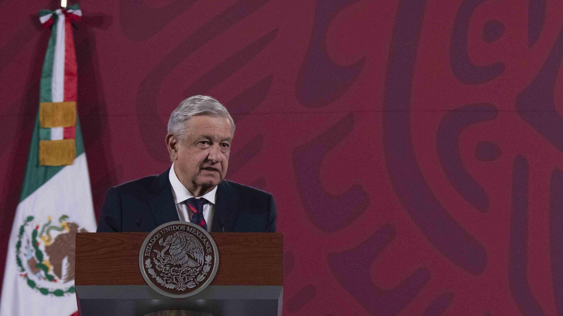 El presidente de México, Andrés Manuel López Obrador - Sputnik Mundo, 1920, 03.03.2021