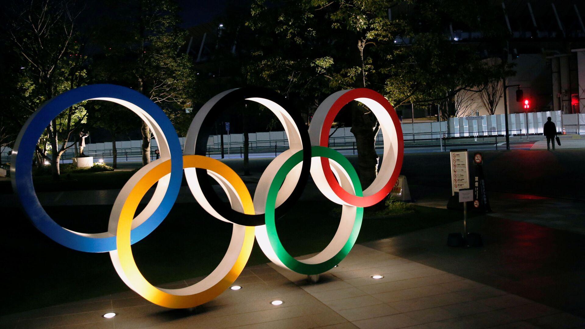 Logo de los Juegos Olímpicos en Tokio - Sputnik Mundo, 1920, 29.03.2021