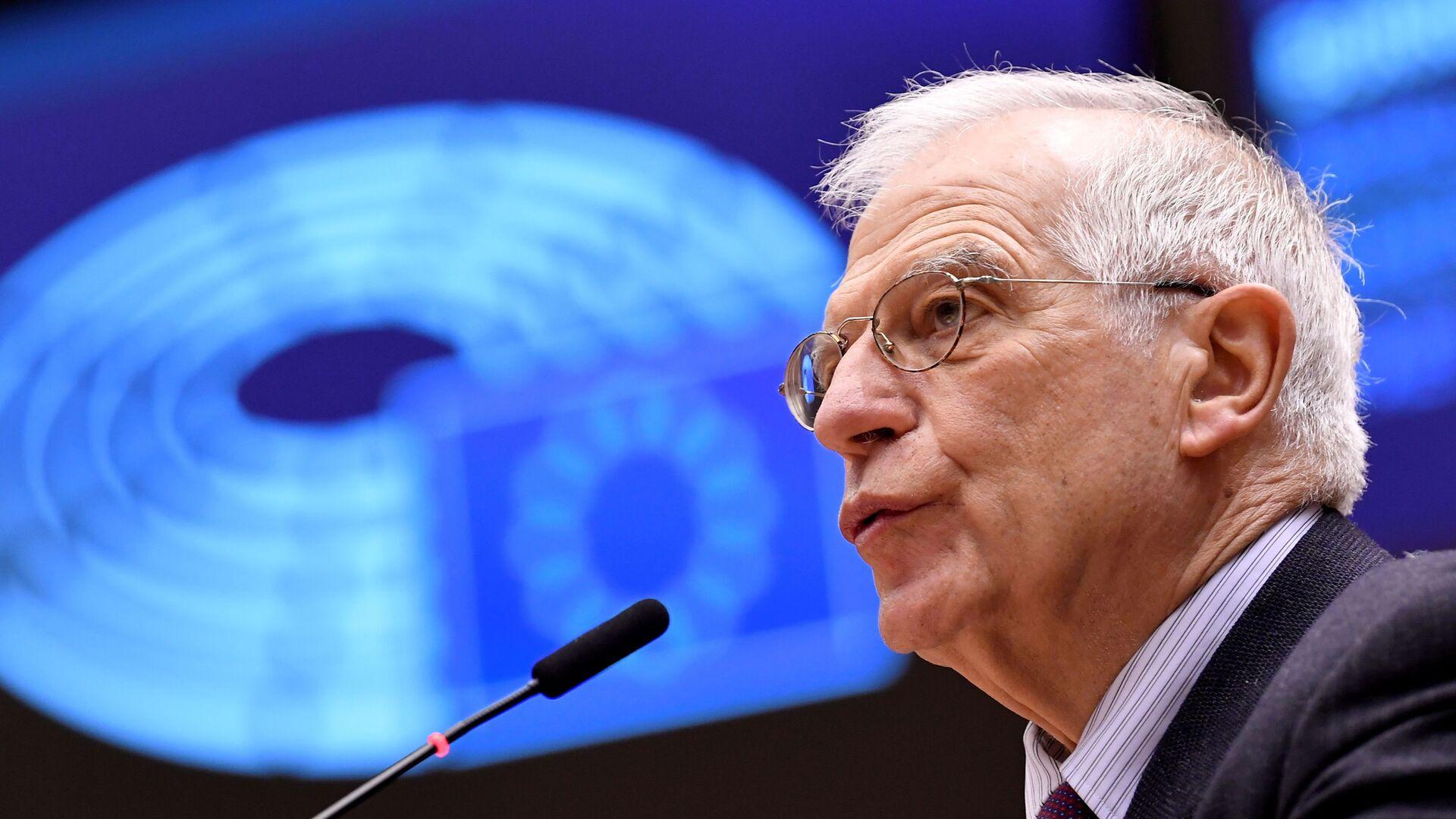 Josep Borrell, alto representante para la Política Exterior de la UE  - Sputnik Mundo, 1920, 08.10.2021