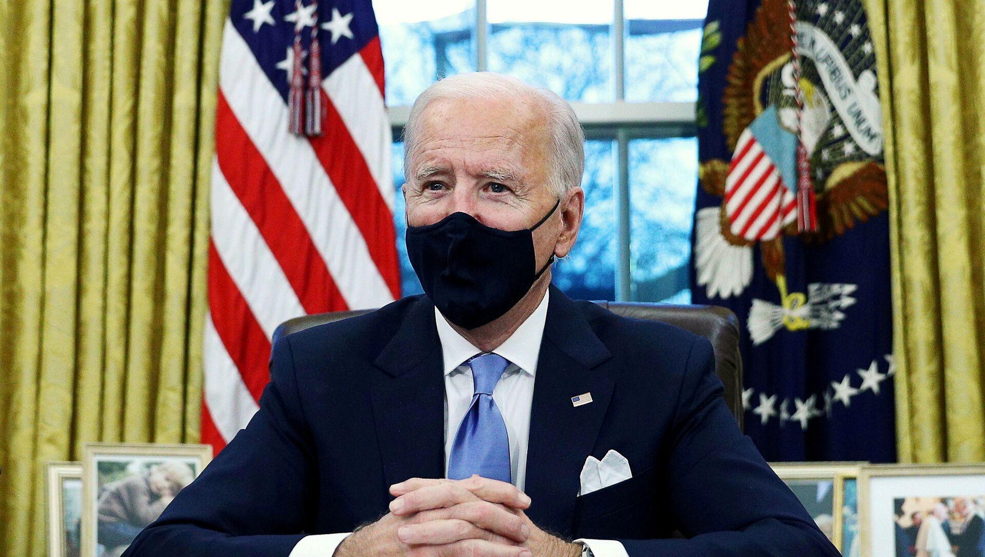 Joe Biden, presidente de EEUU - Sputnik Mundo, 1920, 01.02.2021