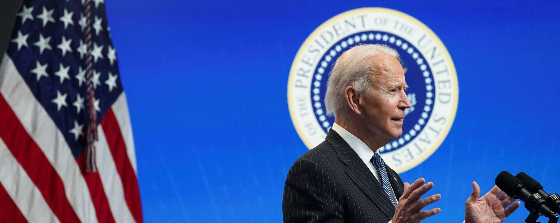 Joe Biden, presidente de EEUU - Sputnik Mundo, 1920, 13.02.2021